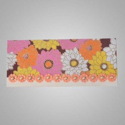 Pearl & Flower In Pink & Orange Pack Of 2 - The Gift Bag