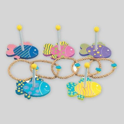 Under The Sea Wooden Ring Toss Game - 1 Unit - Hullabaloo