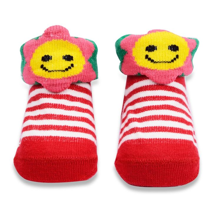 793f1e0abf4 Hopscotch - Wonder Kids - Wonderkids Red Stripes Baby Grip Socks