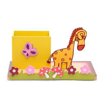 Giraffe Pencil Stand With Base - KIDOZ
