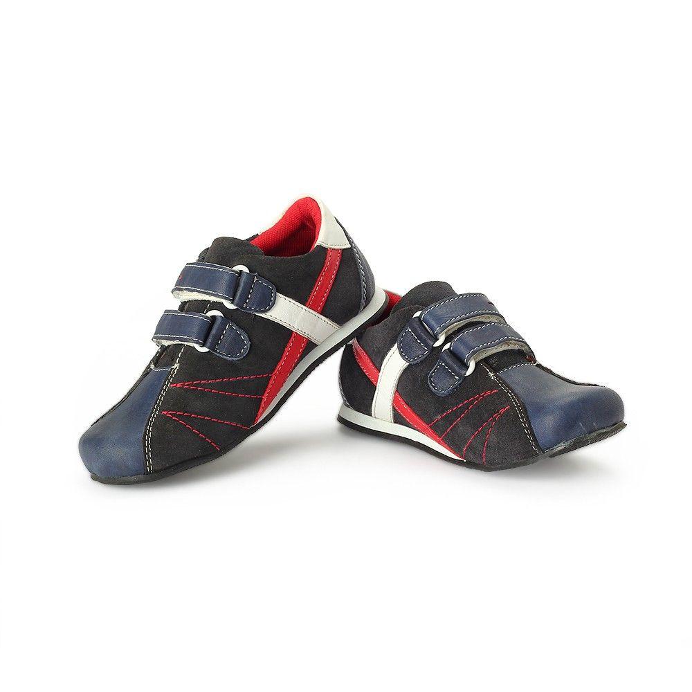 Buy Blue - Boys Leather Shoe online