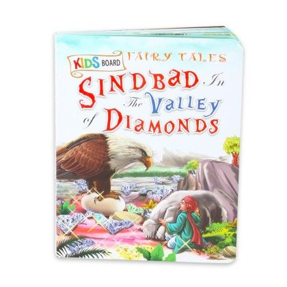 Kids Board Fairy Tales  Sindbad And The Valley Of Diamonds - SAWAN