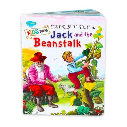 Kids Board Fairy Tales Jack And The Beanstalk - SAWAN