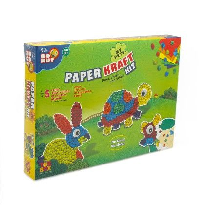 Paper Kraft Kit - My Pets - ToysBox