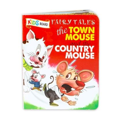 Kids Board Fairy Tales The Town Mouse & The Country Mouse - SAWAN
