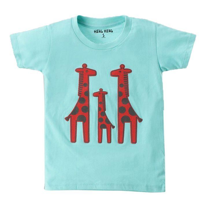 e64bc9ca Hopscotch - Heng Heng - Giraffe Family T-Shirt