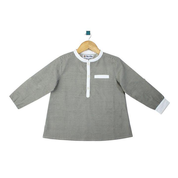 2efa65564 Hopscotch - So-Clo - Dot Boys Shirt