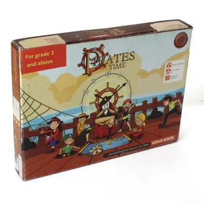 Pirates Of Time (grade 3+) Time Chase Game For Kids - Logic Roots