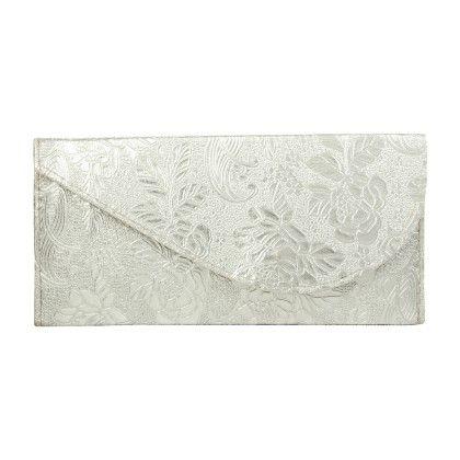 Silver Embossed Shagun Envelope - Funkrafts