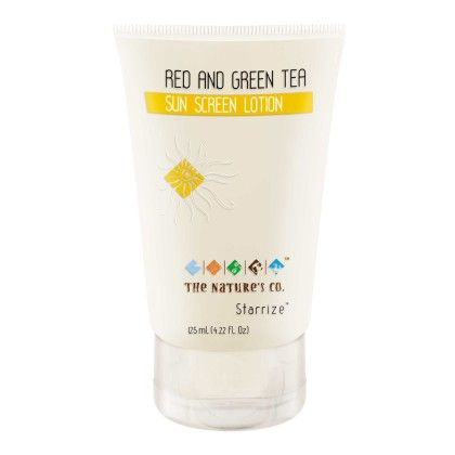 Red And Green Tea Sun Screen Lotion - 125ml - THE NATURE'S CO.