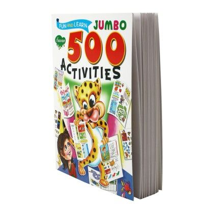 Fun & Learn Jumbo 500 Activities - SAWAN