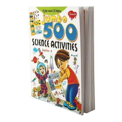 Fun & Learn Jumbo Science 500 Activities - SAWAN