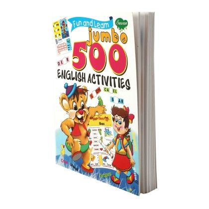 Fun & Learn Jumbo English 500 Activities - SAWAN
