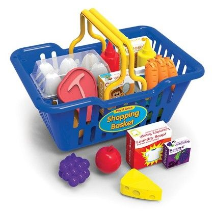 Play And Learn Shopping Basket - Learning Journey
