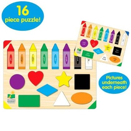 Lift & Learn Colors & Shapes - Learning Journey