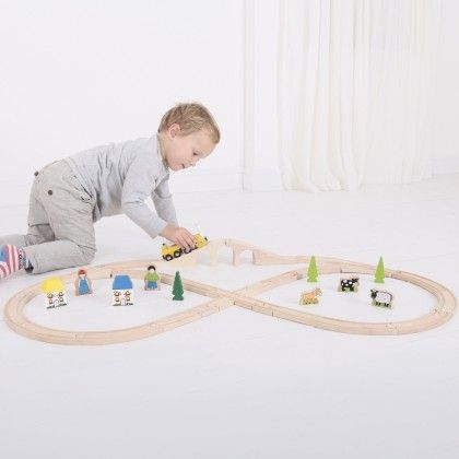 Heritage Collection Rocket Train Set - Big Jig Toys