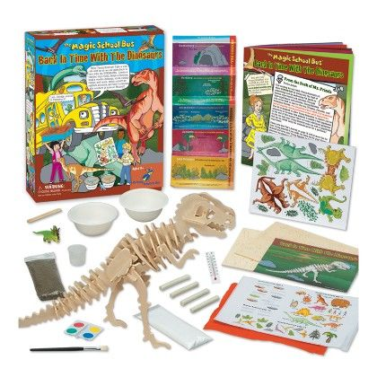 The Magic School Bus™ - Back In Time With The Dinosaurs - The Young Scientists Club