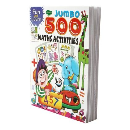 Fun & Learn Jumbo Maths 500 Activities - SAWAN