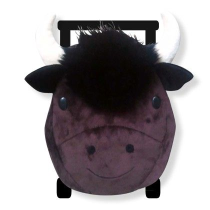 Buffalo Kids Plush Pull Along Backpack - Sassafras