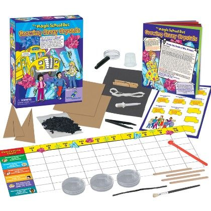 The Magic School Bus - Grow Crazy Crystals - The Young Scientists Club