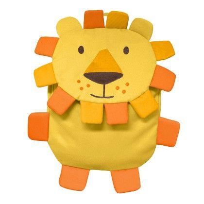 On Safari Backpacks - Yellow Lion - I Play