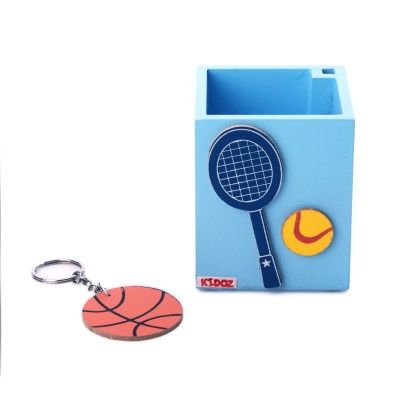 Pencil Stands-sports(with Free Keychain) - KIDOZ
