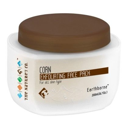 Corn Exfoliating Face Pack - 200ml - THE NATURE'S CO.