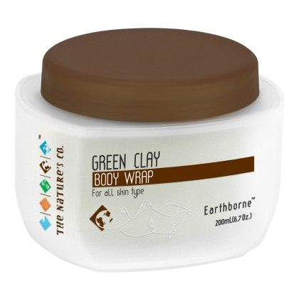 Green Clay Body Wrap - 200ml - THE NATURE'S CO.