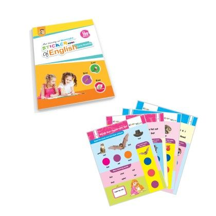 Sticker Book Of English-early Reading - Future Books
