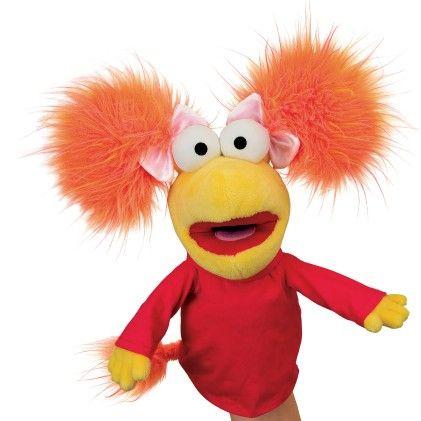 Fraggle Rock Red Hand Puppet - Manhattan Toy