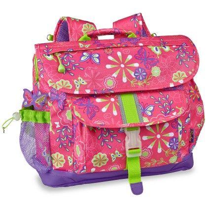 """""""butterfly Garden"""" Kids Backpack - Pink - Bixbee"""