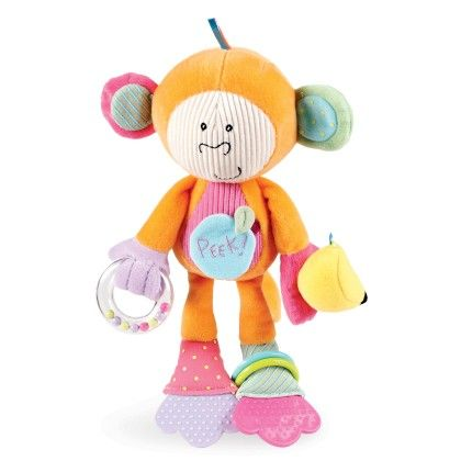 Peek-squeak Monkey - Manhattan Toy