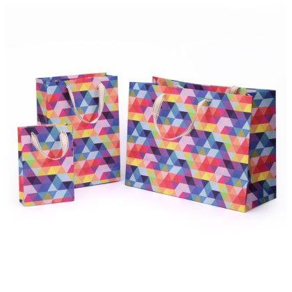 Prism Gift Bag Set Of 3 - Magnolia Design