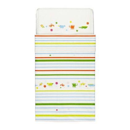 Crib Duvet Cover & Pillowcase- Multicolor - Home Essentials