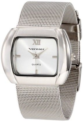 Vernier Women's Oval Case Mesh Bracelet Watch - Vernier Watches