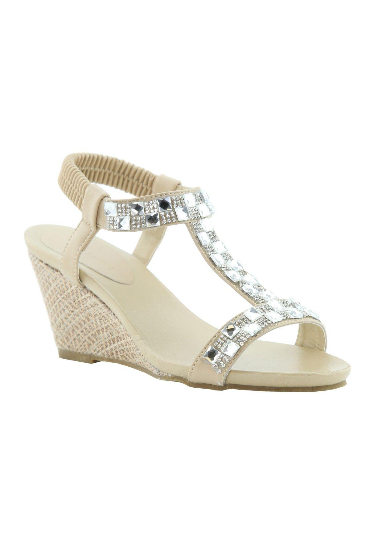 Wedge Sandal Sandal Jennifer Beige Beige Wedge Jennifer 80wnPkO