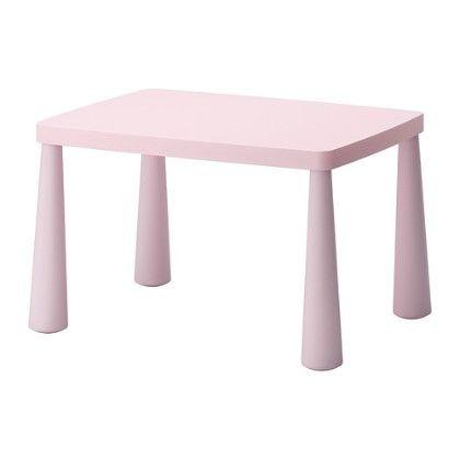 Children's Table Indoor/outdoor- Light Pink - Home Essentials