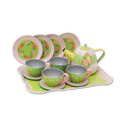 Tin Tea Set - Schylling Toys