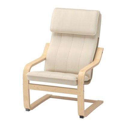 Children's Armchair, Birch Veneer, Almås Natural - Home Essentials