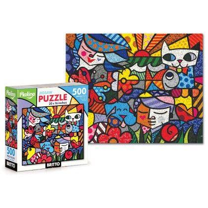Britto Jigsaw Puzzle-500 Piece - P'kolino