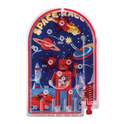 Mini Pin Ball Game, Assorted - Schylling Toys