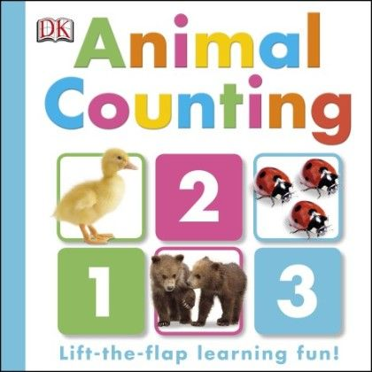 Animal Counting Lift-the-flap - DK Publishers