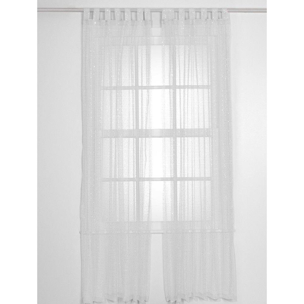 White Sparkletastic Curtain - 3C4G