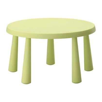 Children's Table, Indoor & Outdoor- Light Green - Home Essentials