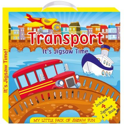 Art Factory - Transport (my Little Pack Of Jigsaw Puzzle)