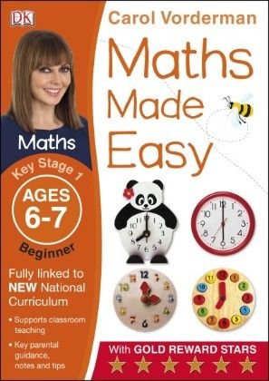 Maths Made Easy Ages 6-7 Key Stage 1 Beginner - DK Publishers