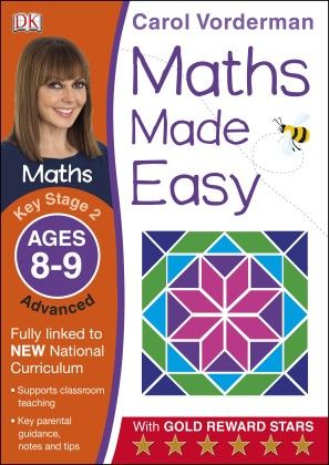 Maths Made Easy Ages 8-9 Key Stage 2 Advanced - DK Publishers