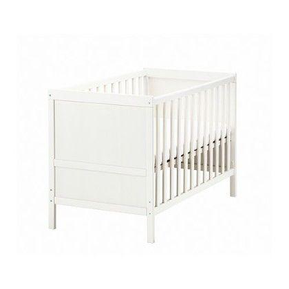 Crib - White - Home Essentials