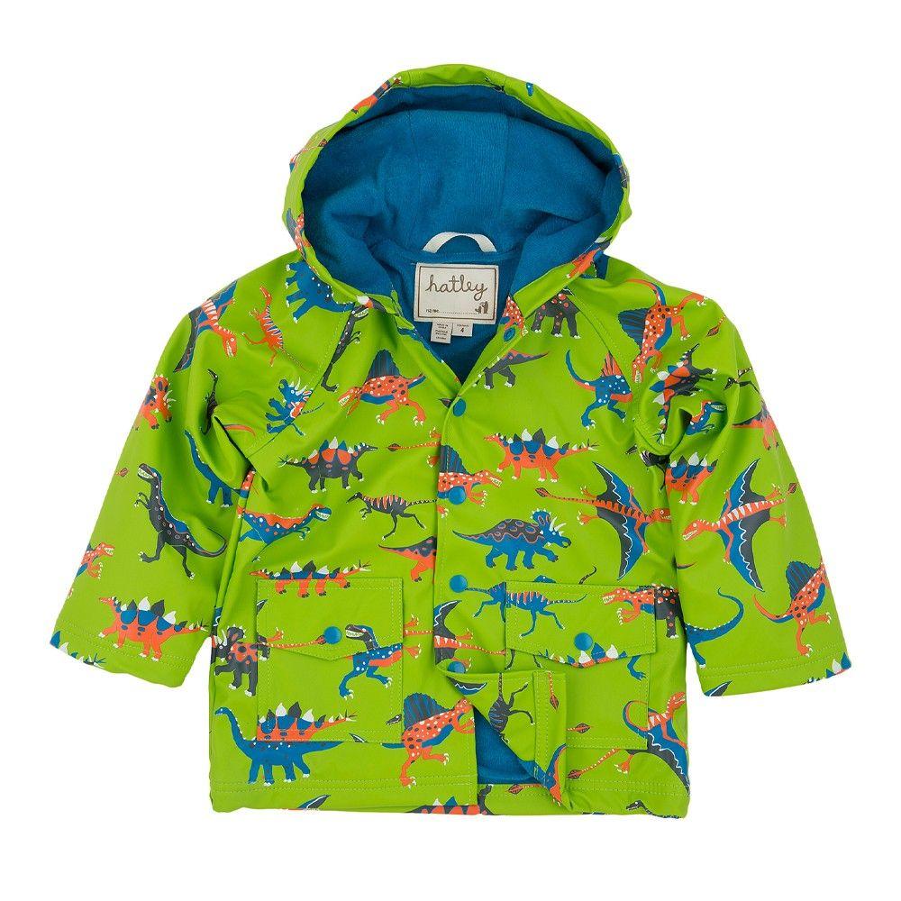 4fe65455e652 Hopscotch - Hatley - Boys Raincoat - Dinos