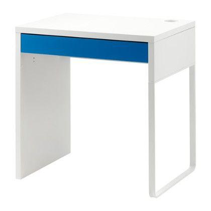 Study Desk - White & Blue - Home Essentials